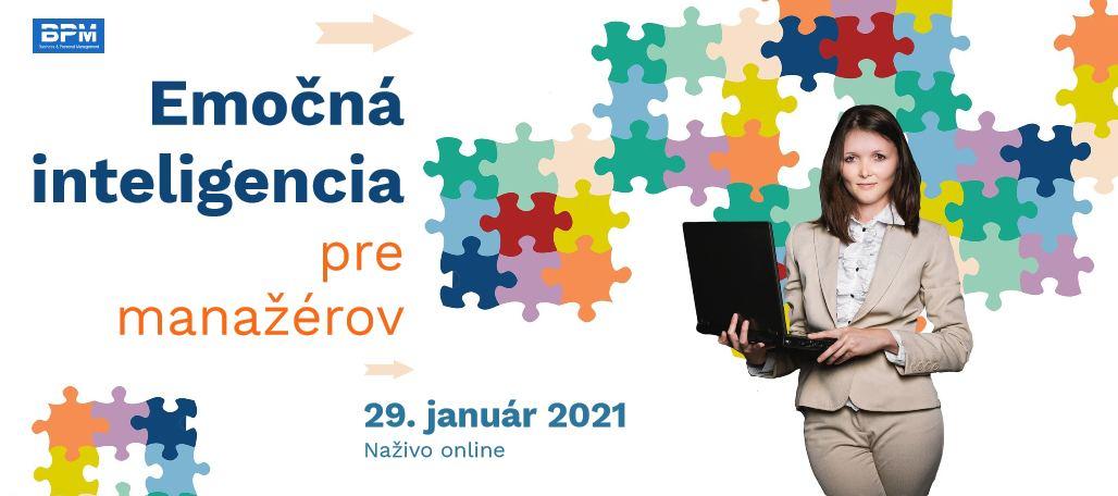 EQ pre manažérov, online, 29. 1. 2021